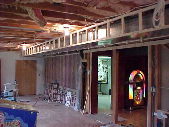 Basement Remodel Project Framing